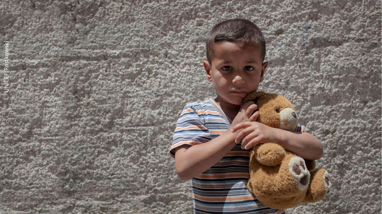 Chico en siria