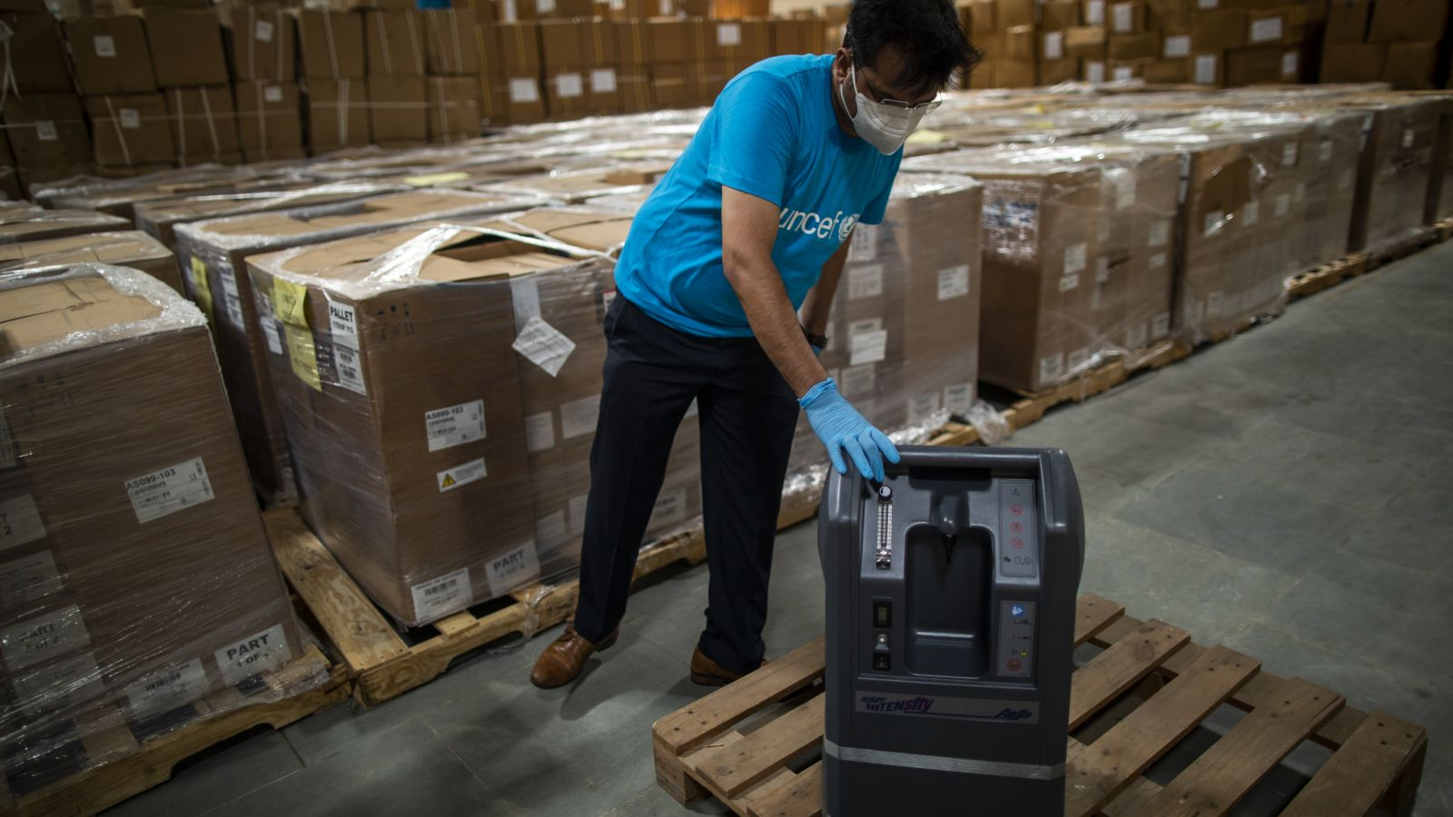 oxygen concentrators by unicef