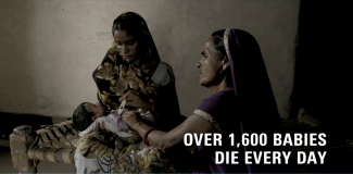 1600 babies die every day in India